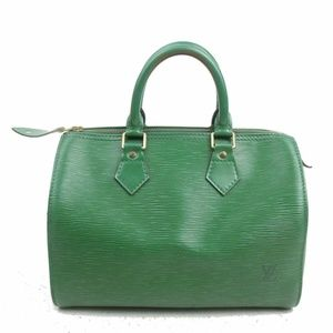 Louis Vuitton Hand Bag Speedy 25 Greens Epi